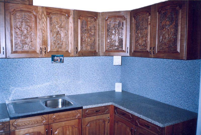 Резная мебель для кухни своими руками 38